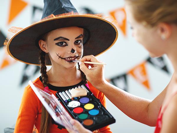 make up bambini halloween