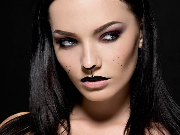 make up halloween gatta