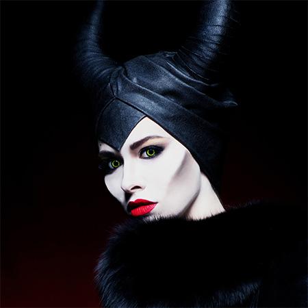 maleficent make up halloween donna